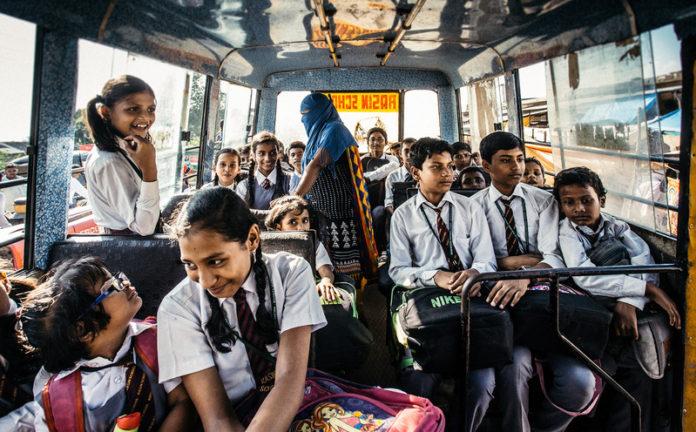 Jammu School Kids - Point 2 Note
