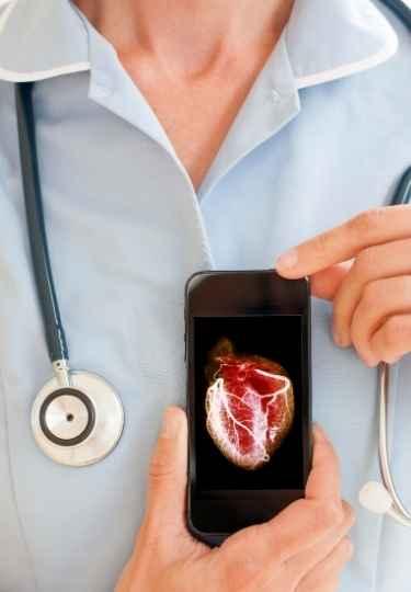 3D printed stem cell heart